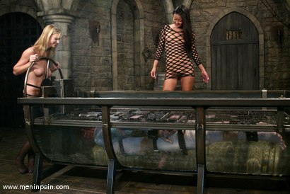 Photo number 8 from Miss Brooke, Diablo and Lucy Lee shot for Men In Pain on Kink.com. Featuring Brooke Banner, Daemon and Lucy Lee in hardcore BDSM & Fetish porn.