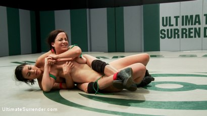 Photo number 3 from SUMMER  VENGEANCE TOURNAMENT 7 v 13 shot for Ultimate Surrender on Kink.com. Featuring Bryn Blayne and Beretta James in hardcore BDSM & Fetish porn.