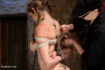 Photo number 16 from Part 1 - Felony Live Show - Most Flexible MILF shot for Hogtied on Kink.com. Featuring Felony in hardcore BDSM & Fetish porn.