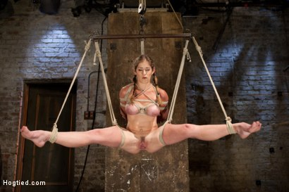 Photo number 1 from Part 1 - Felony Live Show - Most Flexible MILF shot for Hogtied on Kink.com. Featuring Felony in hardcore BDSM & Fetish porn.