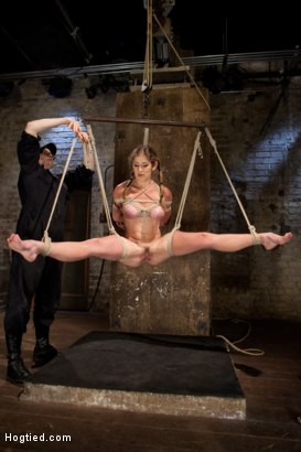 Photo number 13 from Part 1 - Felony Live Show - Most Flexible MILF shot for Hogtied on Kink.com. Featuring Felony in hardcore BDSM & Fetish porn.