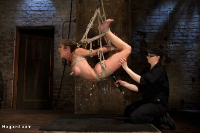 Photo number 2 from Part 2 - Felony Live Show - Most Flexible MILF shot for Hogtied on Kink.com. Featuring Felony in hardcore BDSM & Fetish porn.