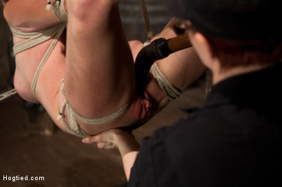 Photo number 10 from Part 2 - Felony Live Show - Most Flexible MILF shot for Hogtied on Kink.com. Featuring Felony in hardcore BDSM & Fetish porn.