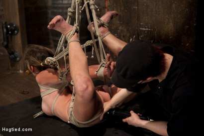Photo number 15 from Part 2 - Felony Live Show - Most Flexible MILF shot for Hogtied on Kink.com. Featuring Felony in hardcore BDSM & Fetish porn.