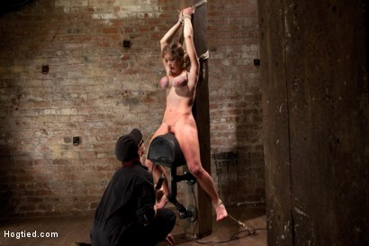 Photo number 15 from Part 3 - Felony Live Show - Most Flexible MILF shot for Hogtied on Kink.com. Featuring Felony in hardcore BDSM & Fetish porn.