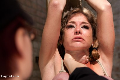 Photo number 7 from Part 3 - Felony Live Show - Most Flexible MILF shot for Hogtied on Kink.com. Featuring Felony in hardcore BDSM & Fetish porn.