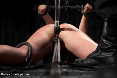 Photo number 5 from Sofia Lauryn - Punished Princess - First ANAL Scene! shot for Device Bondage on Kink.com. Featuring Sofia Lauryn in hardcore BDSM & Fetish porn.