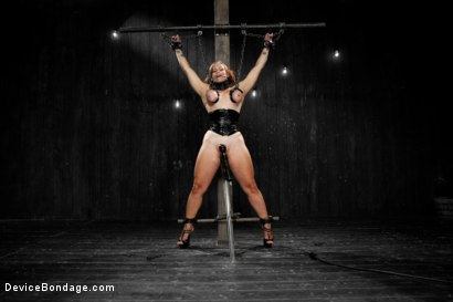 Photo number 16 from Bella Rossi - Captured Cunt shot for Device Bondage on Kink.com. Featuring Bella Rossi in hardcore BDSM & Fetish porn.