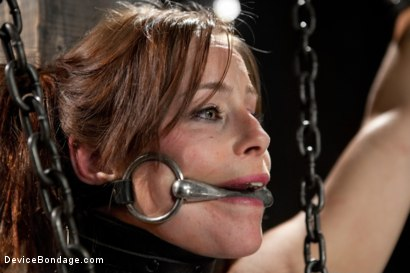 Photo number 11 from Bella Rossi - Captured Cunt shot for Device Bondage on Kink.com. Featuring Bella Rossi in hardcore BDSM & Fetish porn.