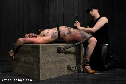 Photo number 6 from Kathryn Dupri Submits to Leather Restraint shot for Device Bondage on Kink.com. Featuring Kathryn Dupri in hardcore BDSM & Fetish porn.