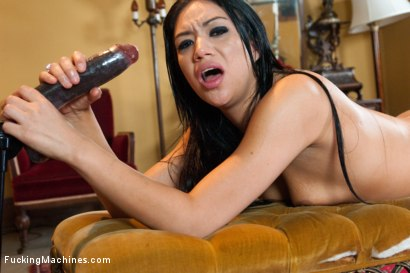 Photo number 14 from Scrubbing off the New Girls Smell: Fucking a Machine Virgin  shot for Fucking Machines on Kink.com. Featuring Angelica Swiss in hardcore BDSM & Fetish porn.