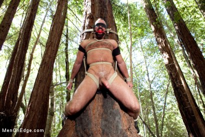 Bound Gods Dom Josh West Gets Edged Deep in the Woods