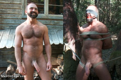 Photo number 1 from Bound Gods Dom Josh West Gets Edged Deep in the Woods shot for Men On Edge on Kink.com. Featuring Josh West in hardcore BDSM & Fetish porn.