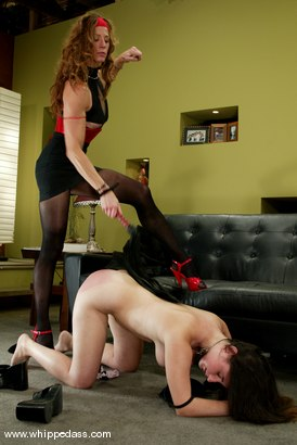 Photo number 5 from Haydee and Kym Wilde shot for Whipped Ass on Kink.com. Featuring Haydee and Kym Wilde in hardcore BDSM & Fetish porn.