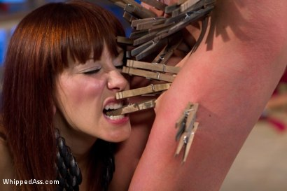 Photo number 13 from Maitresse Madeline and Tia Ling: A Three Year Reunion! shot for Whipped Ass on Kink.com. Featuring Tia Ling and Maitresse Madeline Marlowe in hardcore BDSM & Fetish porn.