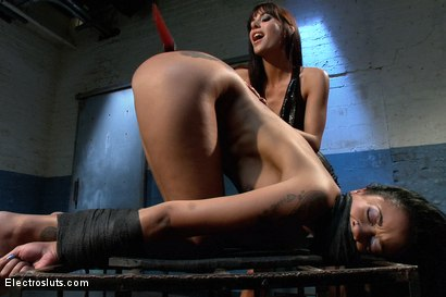 Photo number 14 from Beautiful Skin Diamond Anal takes and Intense Electro Fucking! shot for Electro Sluts on Kink.com. Featuring Skin Diamond and Gia DiMarco in hardcore BDSM & Fetish porn.
