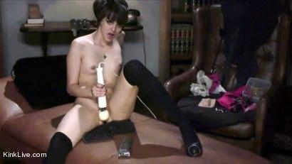 Photo number 5 from Eris LIve shot for Kink Live on Kink.com. Featuring Eris DeSaire in hardcore BDSM & Fetish porn.