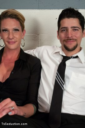 Photo number 15 from The Morg Party: As in the MORGAN BAILEY Party shot for TS Seduction on Kink.com. Featuring Morgan Bailey and S. Jack in hardcore BDSM & Fetish porn.
