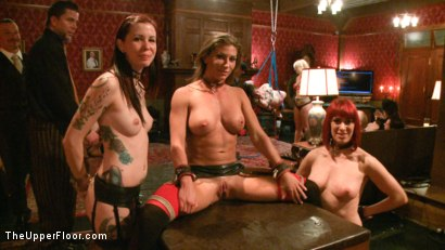 Photo number 7 from Refining the slaves shot for The Upper Floor on Kink.com. Featuring Krysta Kaos, Odile, Ariel X and Maestro Stefanos in hardcore BDSM & Fetish porn.