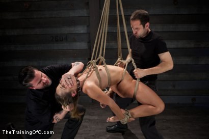 Photo number 6 from Training Kristina Rose-Live Sexual Overload shot for The Training Of O on Kink.com. Featuring Kristina Rose and Maestro in hardcore BDSM & Fetish porn.