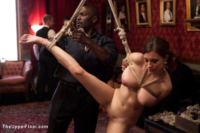 Photo number 9 from Stefanos' Brunch shot for The Upper Floor on Kink.com. Featuring Odile, Krysta Kaos and Maestro Stefanos in hardcore BDSM & Fetish porn.