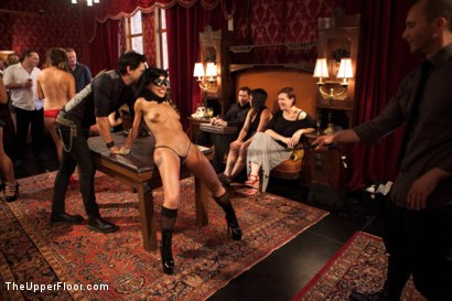 Photo number 5 from Stefanos' Brunch shot for The Upper Floor on Kink.com. Featuring Odile, Krysta Kaos and Maestro Stefanos in hardcore BDSM & Fetish porn.