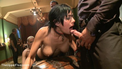 Photo number 3 from Piano Party-Exploring TUF  shot for The Upper Floor on Kink.com. Featuring Dylan Ryan and Beretta James in hardcore BDSM & Fetish porn.