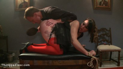 Photo number 8 from Piano Party-Exploring TUF  shot for The Upper Floor on Kink.com. Featuring Dylan Ryan and Beretta James in hardcore BDSM & Fetish porn.