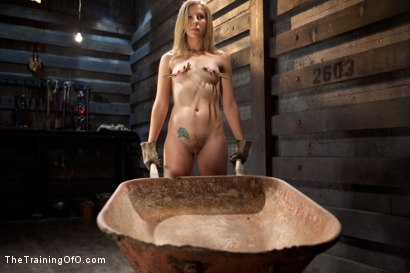Photo number 1 from Slave Training of Chastity Lynn<br>Day 1-Finding her purpose shot for The Training Of O on Kink.com. Featuring Chastity Lynn in hardcore BDSM & Fetish porn.