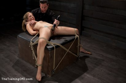 Photo number 14 from Slave Training of Chastity Lynn<br>Day 1-Finding her purpose shot for The Training Of O on Kink.com. Featuring Chastity Lynn in hardcore BDSM & Fetish porn.