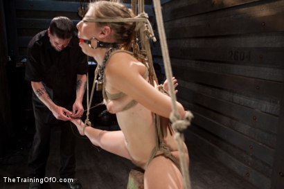 Photo number 10 from Slave Training of Chastity Lynn<br>Day 1-Finding her purpose shot for The Training Of O on Kink.com. Featuring Chastity Lynn in hardcore BDSM & Fetish porn.