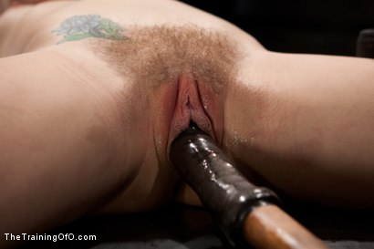 Photo number 13 from Slave Training of Chastity Lynn<br>Day 1-Finding her purpose shot for The Training Of O on Kink.com. Featuring Chastity Lynn in hardcore BDSM & Fetish porn.