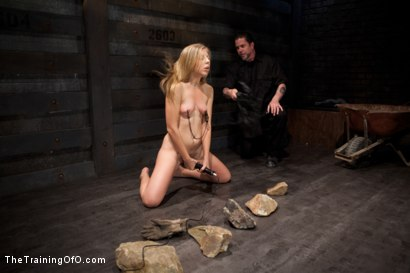 Photo number 6 from Slave Training of Chastity Lynn<br>Day 1-Finding her purpose shot for The Training Of O on Kink.com. Featuring Chastity Lynn in hardcore BDSM & Fetish porn.