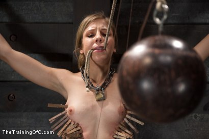 Photo number 5 from Training Chastity Lynn-Day 2 shot for The Training Of O on Kink.com. Featuring Chastity Lynn in hardcore BDSM & Fetish porn.