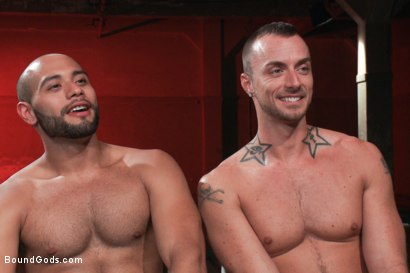 Photo number 15 from Leo Forte takes Jessie Colter to the limit shot for Bound Gods on Kink.com. Featuring Jessie Colter and Leo Forte in hardcore BDSM & Fetish porn.