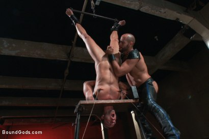Photo number 6 from Leo Forte takes Jessie Colter to the limit shot for Bound Gods on Kink.com. Featuring Jessie Colter and Leo Forte in hardcore BDSM & Fetish porn.