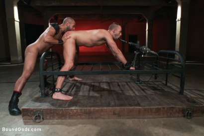 Photo number 9 from Leo Forte takes Jessie Colter to the limit shot for Bound Gods on Kink.com. Featuring Jessie Colter and Leo Forte in hardcore BDSM & Fetish porn.