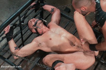 Photo number 14 from Leo Forte takes Jessie Colter to the limit shot for Bound Gods on Kink.com. Featuring Jessie Colter and Leo Forte in hardcore BDSM & Fetish porn.