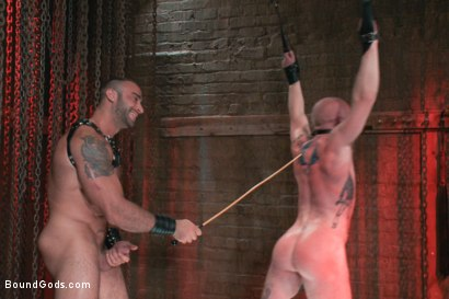Photo number 12 from Passion in Pain shot for Bound Gods on Kink.com. Featuring Brock Rustin and Spencer Reed in hardcore BDSM & Fetish porn.