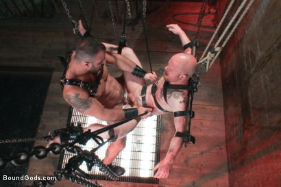 Photo number 13 from Passion in Pain shot for Bound Gods on Kink.com. Featuring Brock Rustin and Spencer Reed in hardcore BDSM & Fetish porn.