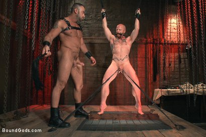 Photo number 7 from Passion in Pain shot for Bound Gods on Kink.com. Featuring Brock Rustin and Spencer Reed in hardcore BDSM & Fetish porn.