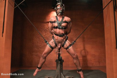Photo number 11 from Dominic Pacifico in Bondage Hell shot for Bound Gods on Kink.com. Featuring Master Avery and Dominic Pacifico in hardcore BDSM & Fetish porn.