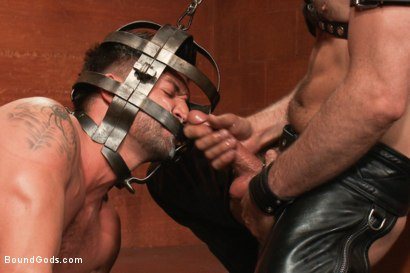 Photo number 14 from Dominic Pacifico in Bondage Hell shot for Bound Gods on Kink.com. Featuring Master Avery and Dominic Pacifico in hardcore BDSM & Fetish porn.