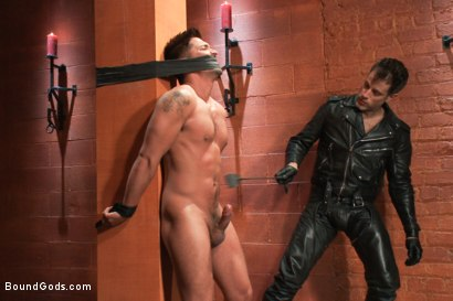 Photo number 5 from Dominic Pacifico in Bondage Hell shot for Bound Gods on Kink.com. Featuring Master Avery and Dominic Pacifico in hardcore BDSM & Fetish porn.