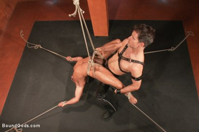 Photo number 9 from Dominic Pacifico in Bondage Hell shot for Bound Gods on Kink.com. Featuring Master Avery and Dominic Pacifico in hardcore BDSM & Fetish porn.