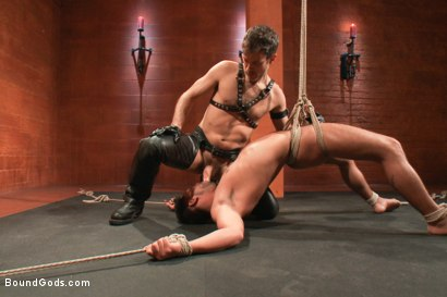 Photo number 7 from Dominic Pacifico in Bondage Hell shot for Bound Gods on Kink.com. Featuring Master Avery and Dominic Pacifico in hardcore BDSM & Fetish porn.