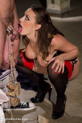 Photo number 13 from Reality Fanboy Cuckold shot for Divine Bitches on Kink.com. Featuring Chanel Preston, John Jammen and Andrew Blue in hardcore BDSM & Fetish porn.