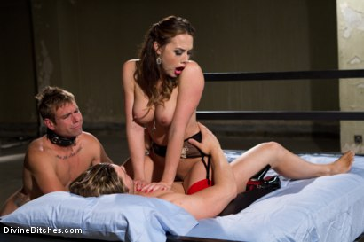 Photo number 5 from Reality Fanboy Cuckold shot for Divine Bitches on Kink.com. Featuring Chanel Preston, John Jammen and Andrew Blue in hardcore BDSM & Fetish porn.