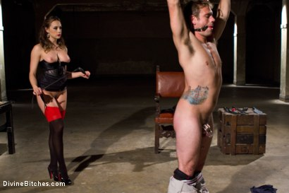 Photo number 8 from Reality Fanboy Cuckold shot for Divine Bitches on Kink.com. Featuring Chanel Preston, John Jammen and Andrew Blue in hardcore BDSM & Fetish porn.