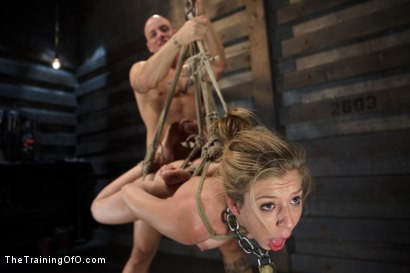 Photo number 5 from Training Chastity Lynn - Day 4 - Sexual Obedience shot for The Training Of O on Kink.com. Featuring Chastity Lynn and Derrick Pierce in hardcore BDSM & Fetish porn.